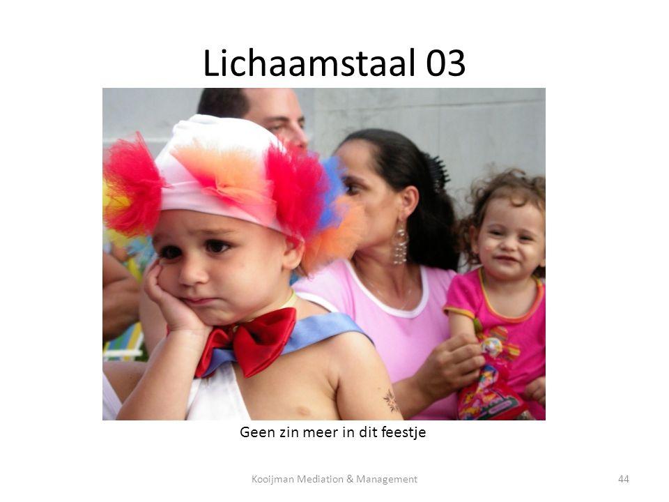 Lichaamstaal 03 Geen zin meer in dit feestje Kooijman Mediation & Management44