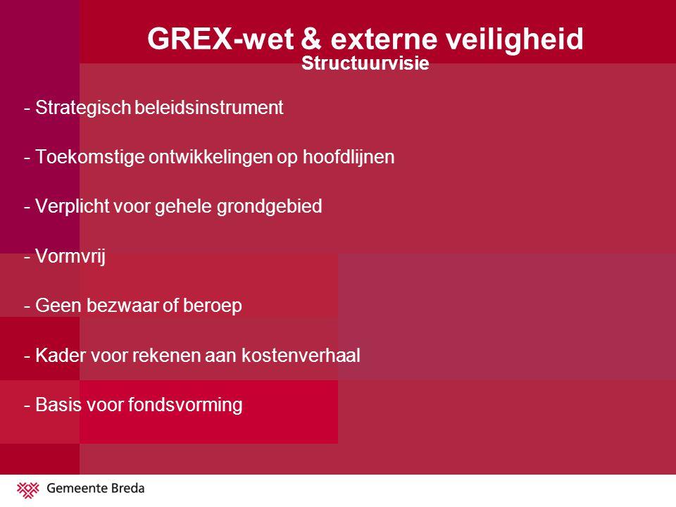 GREX-wet en externe veiligheid Mogelijke veiligheidsmaatregelen (misschien vallend onder de GREX-wet) Copyright www.railgoed.nlwww.railgoed.nl Beveiliging overwegen -Plaatselijke afspraken en/of maatregelen aan de spoorbaan (bijvoorbeeld ATBvv, hotbox detectie en drainage in het spoor/beperking van een plasbrand) -Ontsporingsgeleiding -Extra middelen voor rampbestrijding -Verschil in grondopbrengst i.v.m.