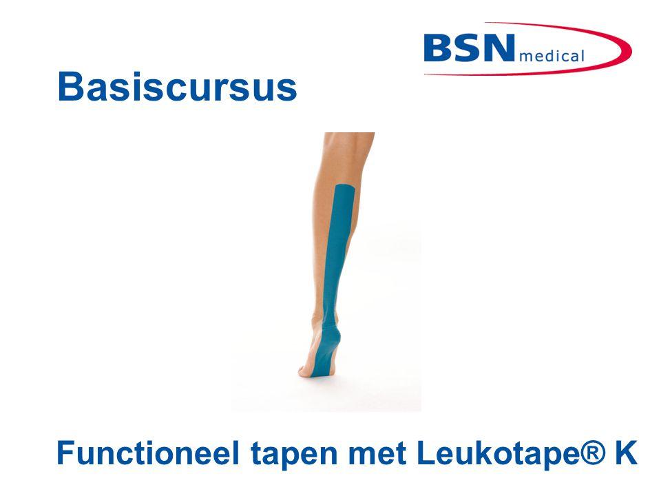 Basiscursus Functioneel tapen met Leukotape® K