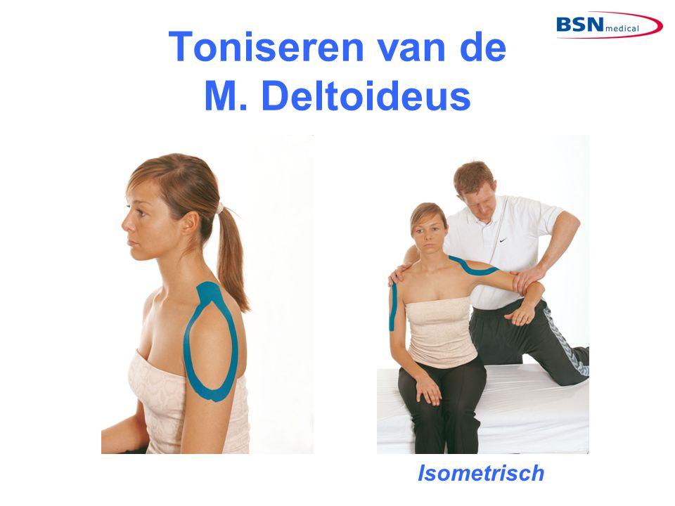 Toniseren van de M. Deltoideus Isometrisch