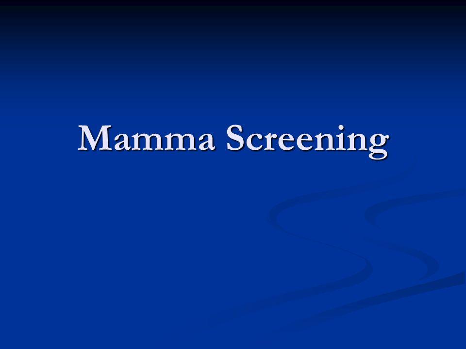 Borstonderzoek als screening   Periodiek borstzelfonderzoek  geen betere prognose  zelfgevoelde knobbel neemt sensitiviteit mammogram toe, maar de specificiteit neemt af.