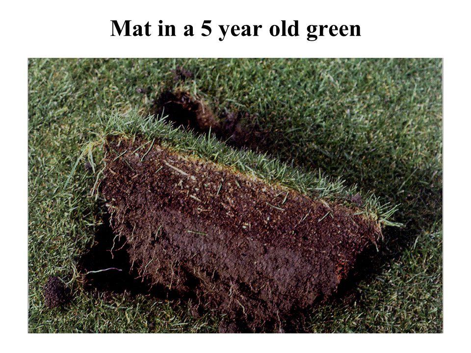 Organische stof in de toplaag van sportvelden De in de vorm van plantresten aan de grond toegevoegde organische stof bedraagt voor bemeste grasvelden circa 8000 kg droge stof/ha/jaar.