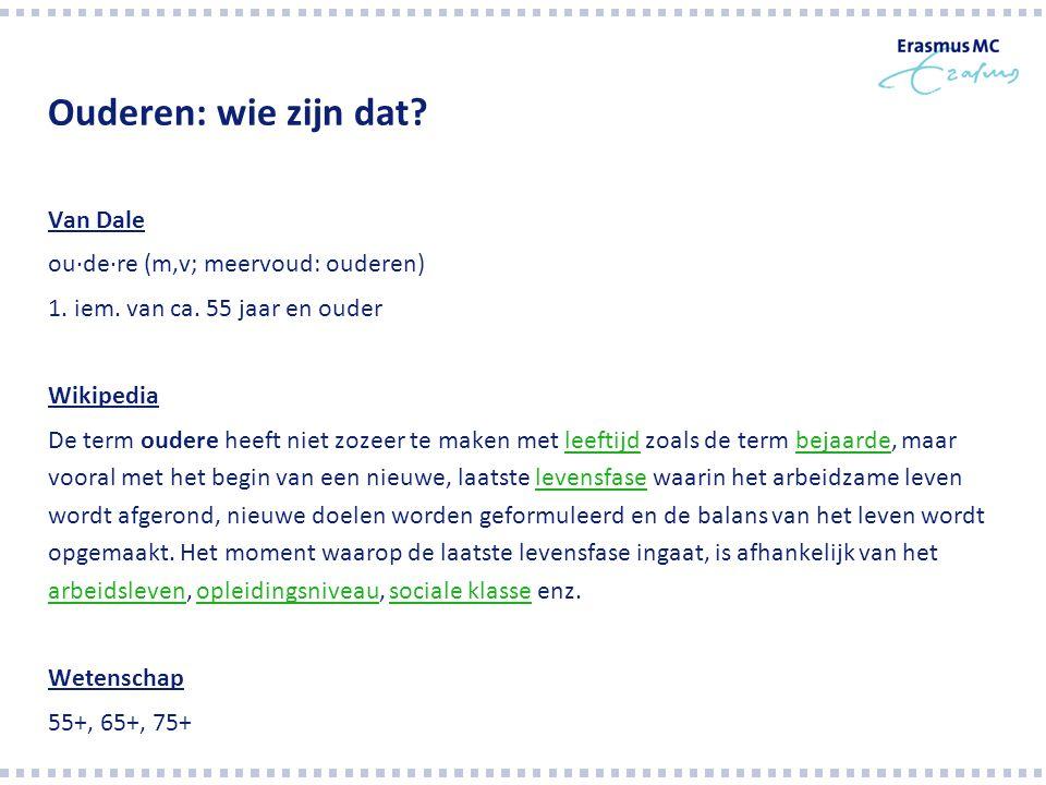 Bedankt voor uw aandacht! a.etman@erasmusmc.nl