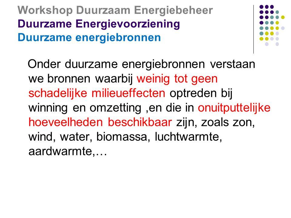 Workshop Duurzaam Energiebeheer Syndicale info en inspraak Via CPBW en/of OR  Info en inspraak via:  Comité ter preventie en bescherming op het werk (CPBW)  Ondernemingsraad (OR)