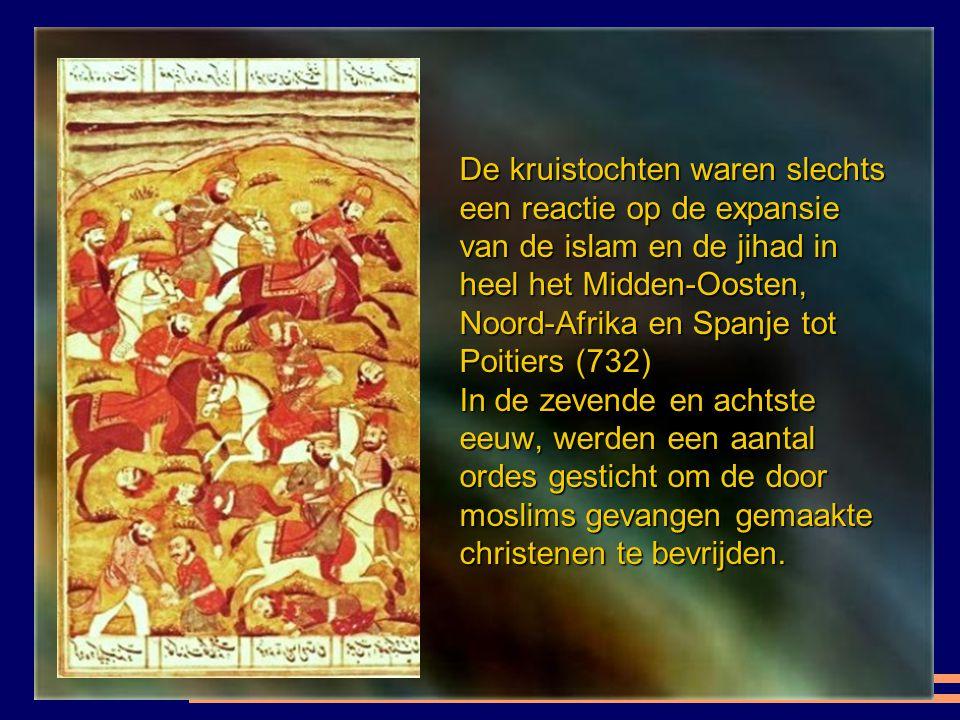 De geleerde Abdelkader Timoule specialist in de maritieme Jihad in Marokko vertelt ons dat religieuze christenen die hun leven gewijd aan de vrijkopin