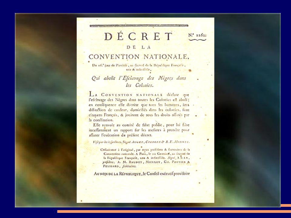 Onder andere is het op initiatief van pater Gregorius dat voor de eerste keer de afschaffing van de slavernij werd gestemd op 16 pluviose Jaar II (179