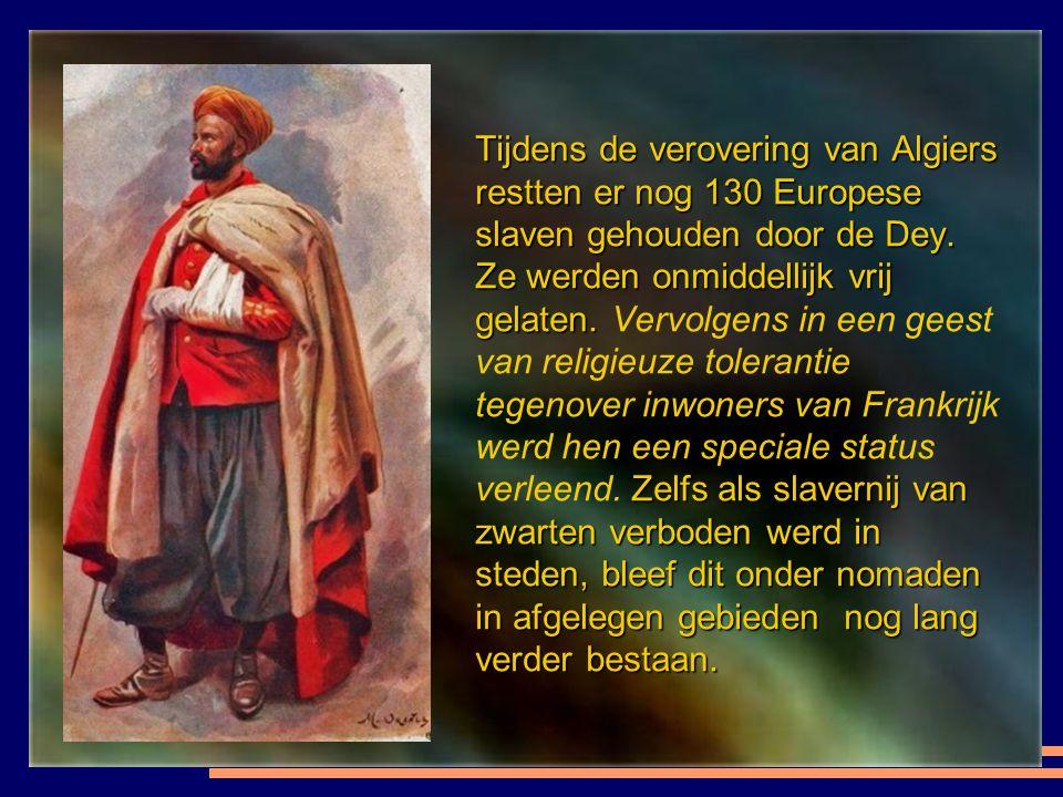 Na een zeeslag landde het Franse leger op Sidi Ferruch op 14 juni 1830. Op 5 juli 1830 tekent de Ottomaanse heerser Hussein- Dey zijn ontslag. Na een