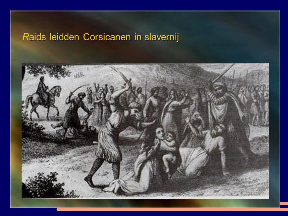 Aankomst van van slaven in Algiers