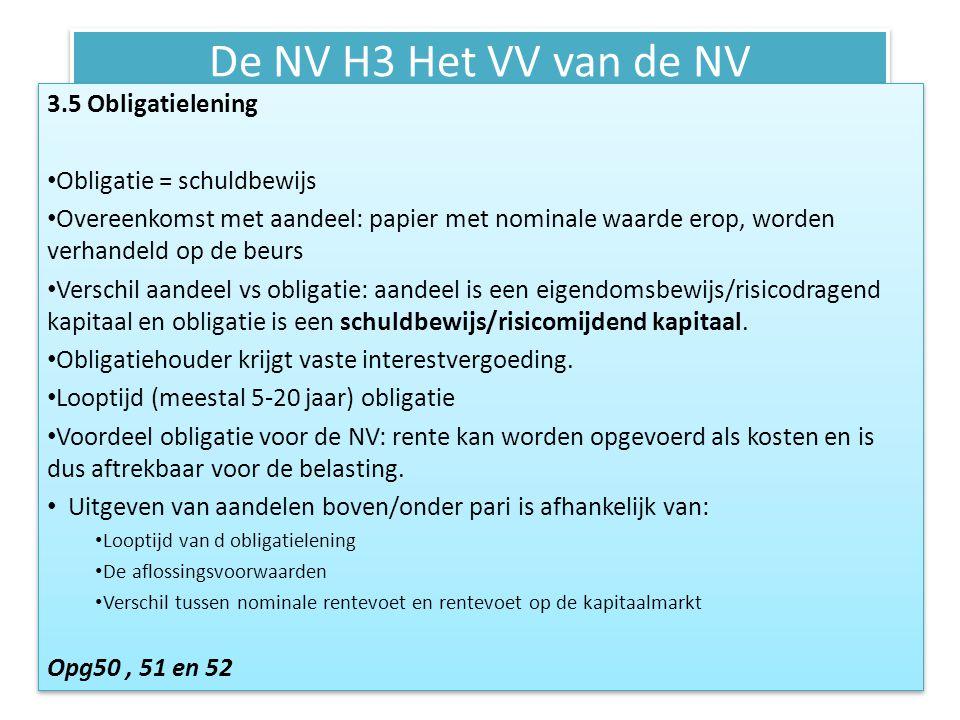 De NV H4 De activa van de NV Activa: • Vaste • Vlottende • Liquide middelen Vaste Activa: • geld dat voor langer dan 1 jaar is geïnvesteerd en vastgelegd.