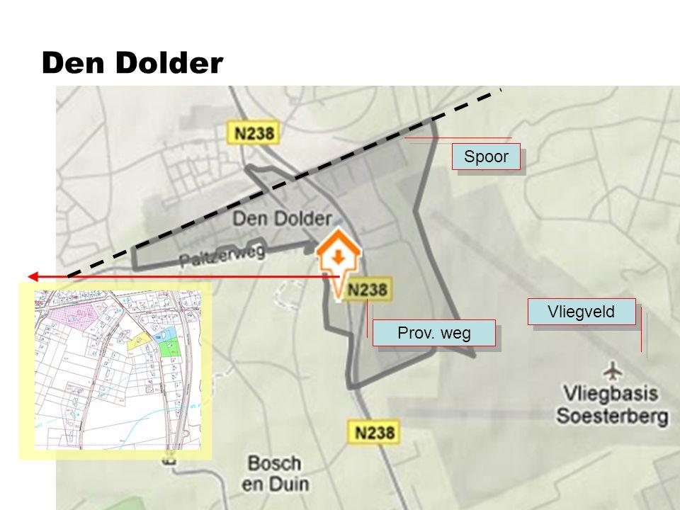 Locatie Dolderseweg 59: ca 4.000 m 2 In de nabije omgeving worden een reeks van grote panden op vaak grote percelen – zgn.
