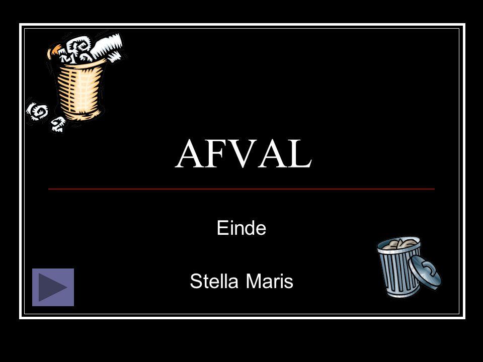 AFVAL Einde Stella Maris