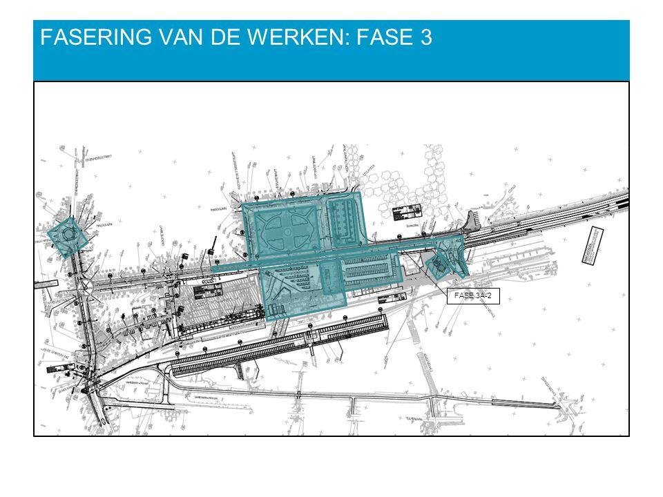 FASERING VAN DE WERKEN: FASE 3 FASE 3A-2