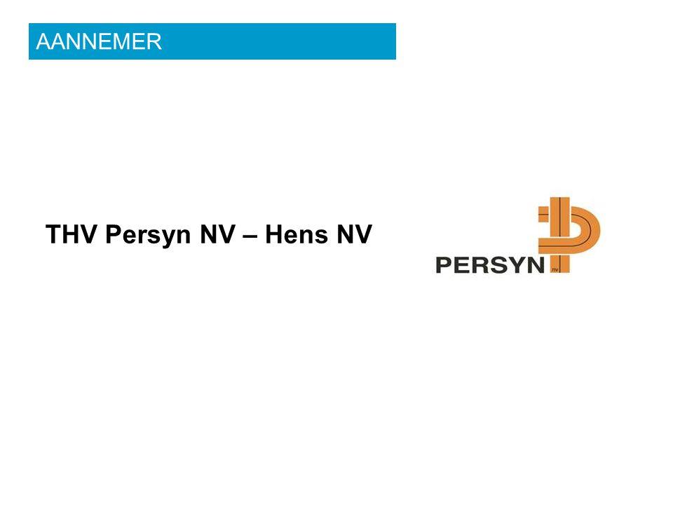 THV Persyn NV – Hens NV AANNEMER