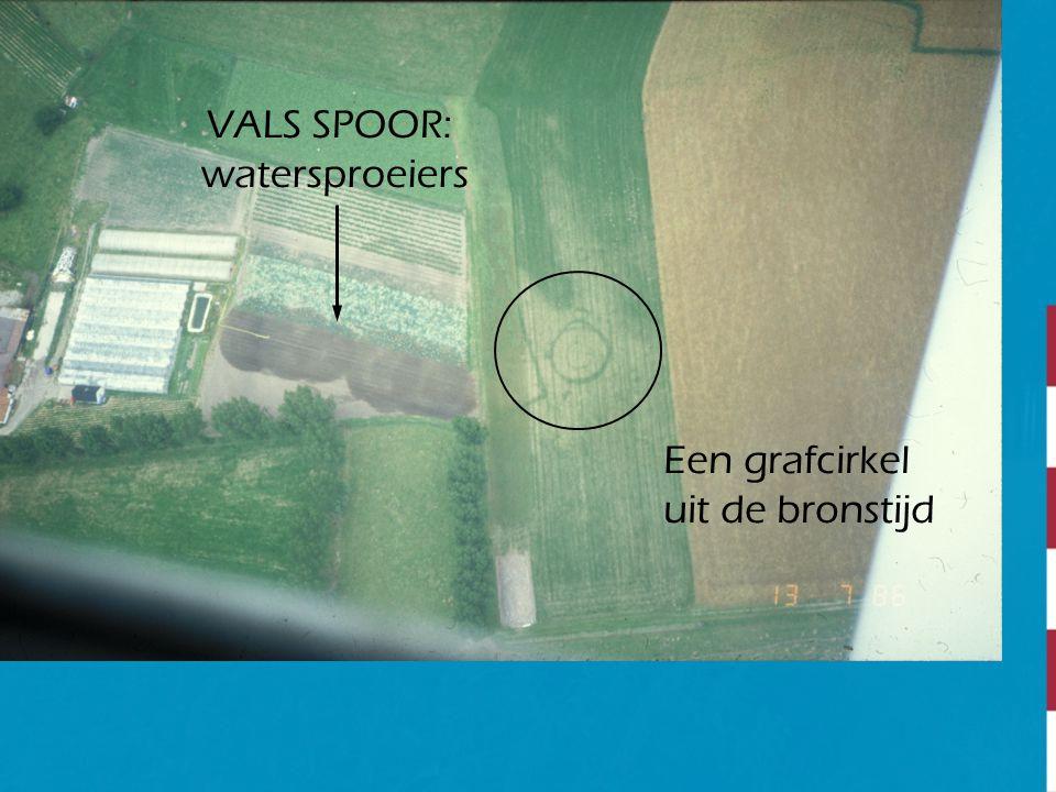Een grafcirkel uit de bronstijd VALS SPOOR: watersproeiers
