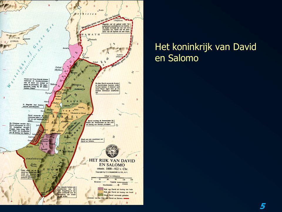 5 Het koninkrijk van David en Salomo