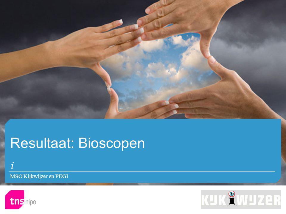 Resultaat: Bioscopen MSO Kijkwijzer en PEGI