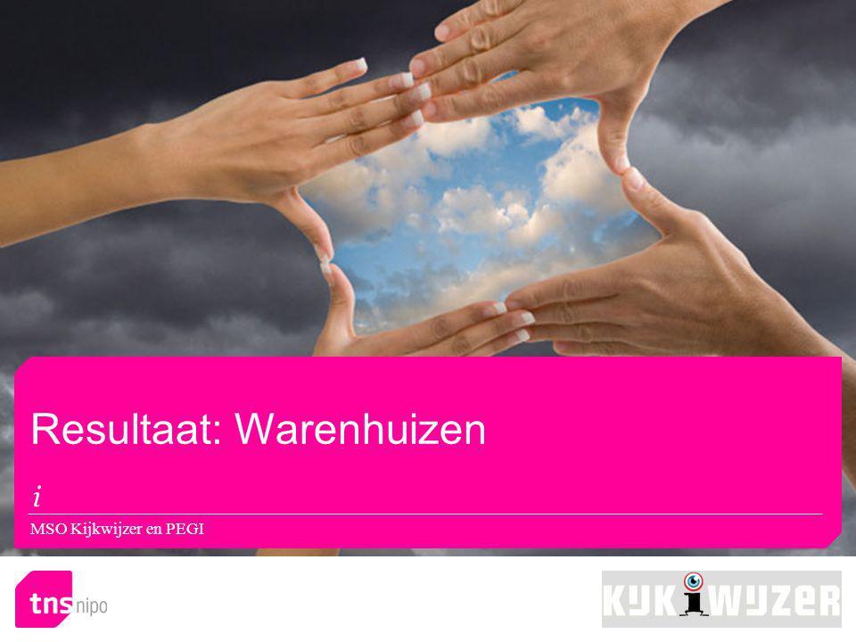 Resultaat: Warenhuizen MSO Kijkwijzer en PEGI
