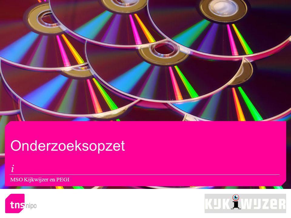 Resultaat: Muziekwinkel MSO Kijkwijzer en PEGI
