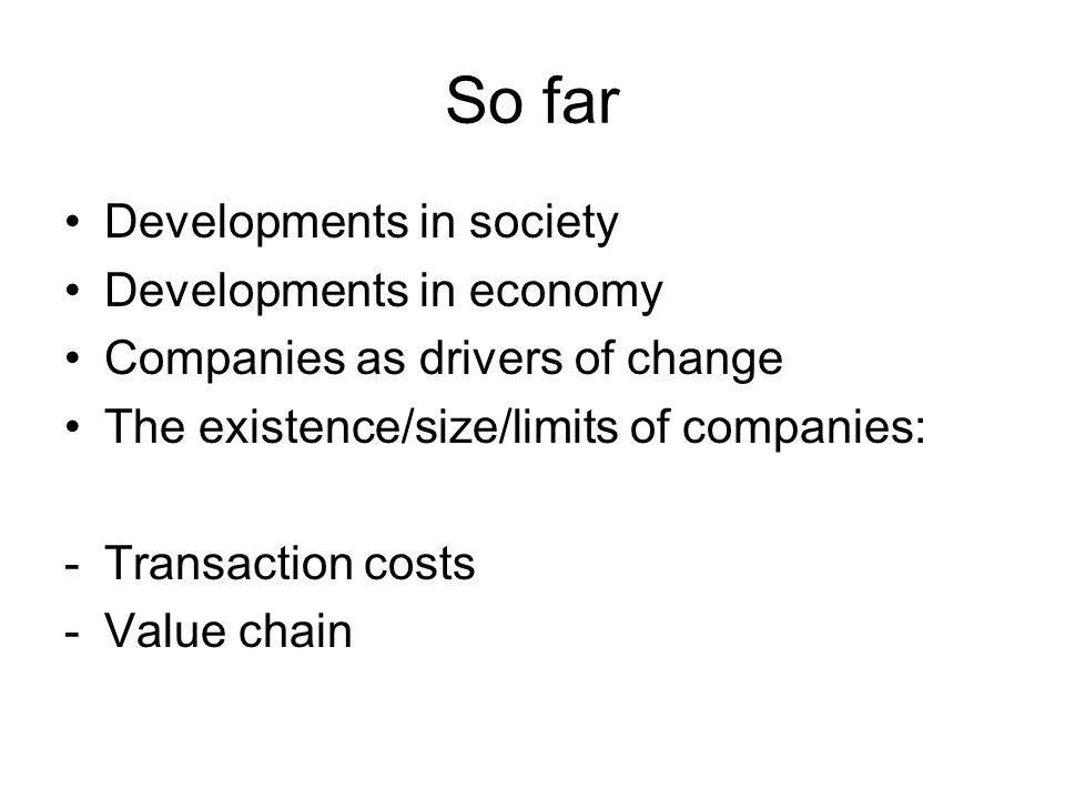Voorbeeld gediversifieerde organisatie