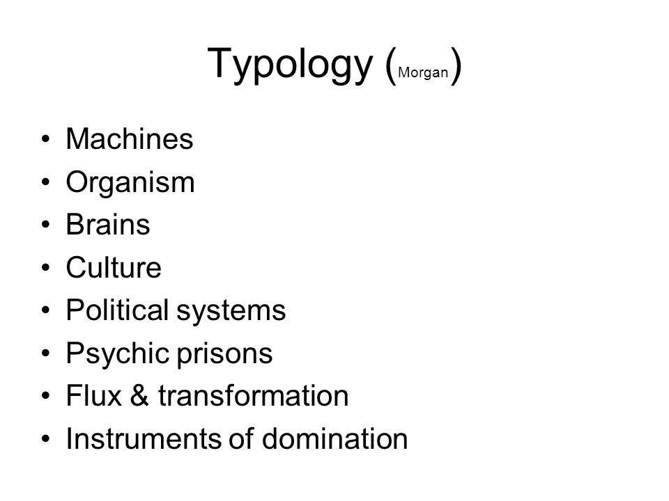 The machine •Bureaucracy •Functional specialisation •Scientific management (Taylor)