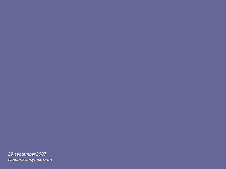 29 september 2007 Huisartsensymposium HORMONEN •Oestrogenen en progestagenen •Corticosteroïden •=> Hebben een mineralocorticoïd effect: natrium en waterretentie •Maar ook ZOETHOUT = glycyrizinezuur