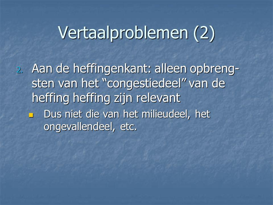 Vertaalproblemen (2) 2.