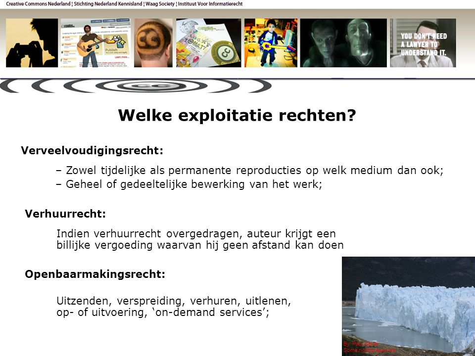 Welke exploitatie rechten. By: Paul Keller Some rights reserved.