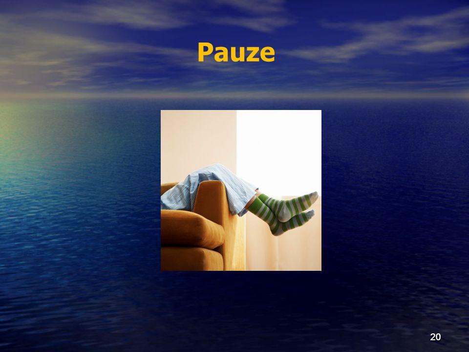 Pauze 20 20