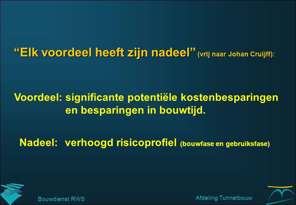 """""""Elk voordeel heeft zijn nadeel"""" """"Elk voordeel heeft zijn nadeel"""" (vrij naar Johan Cruijff): Voordeel: significante potentiële kostenbesparingen en be"""