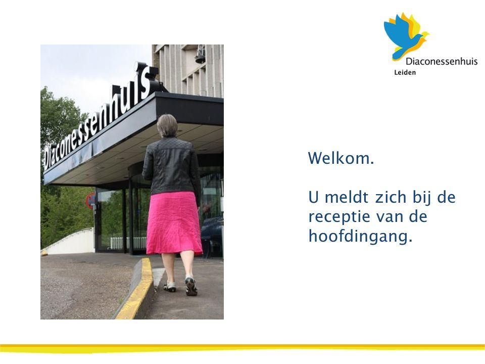 U volgt: Behandelcentrum O.K. route 37 (derde etage van de poliklinieken).
