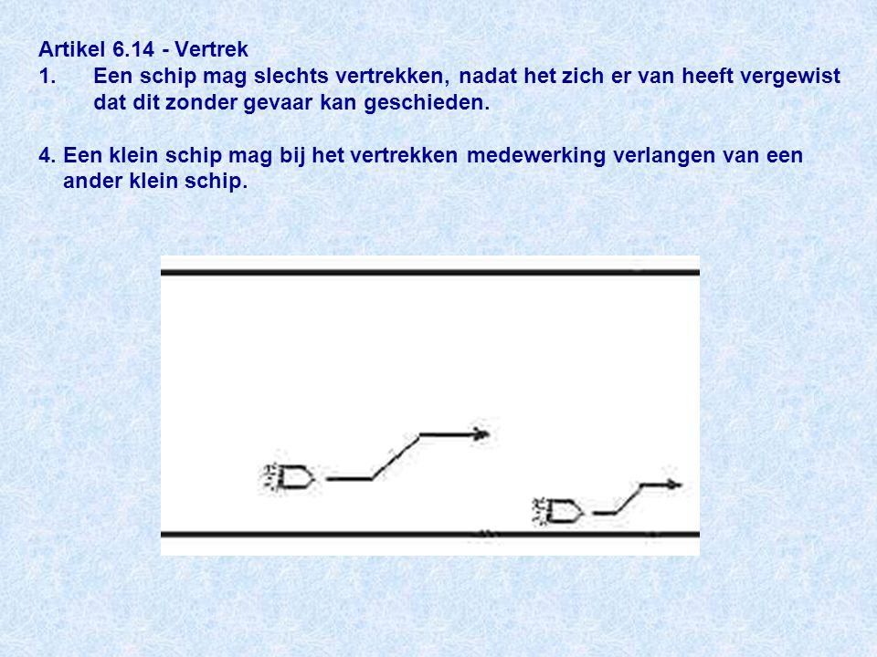 Artikel 6.14 - Vertrek 1.