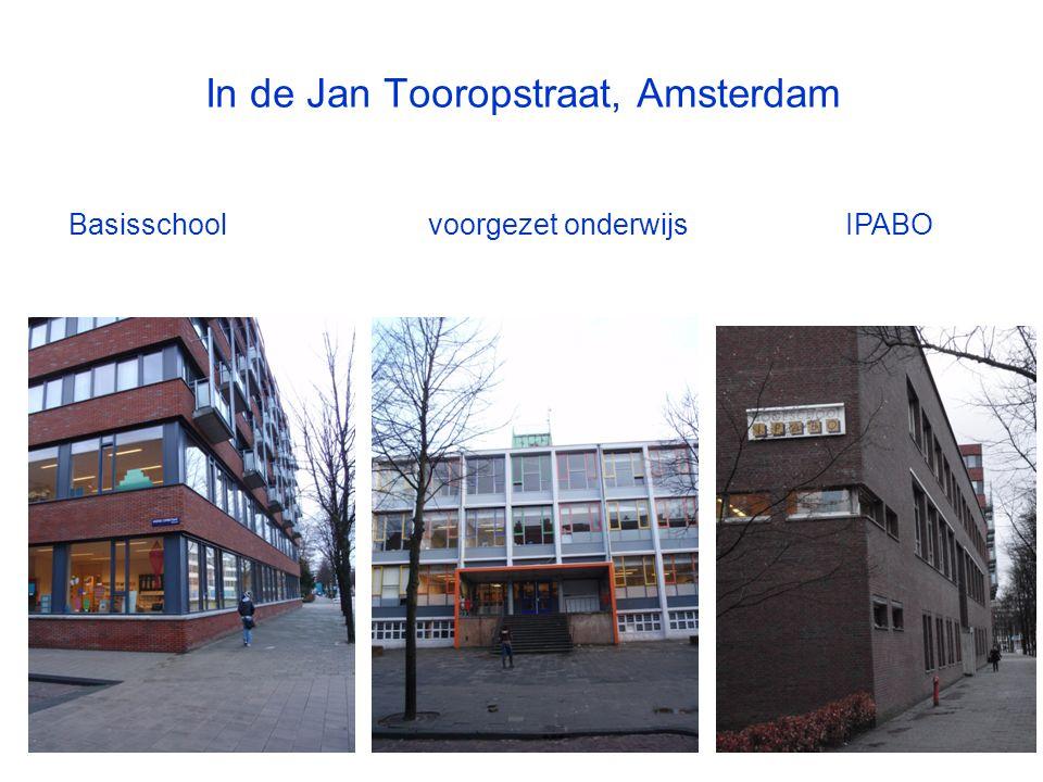 In de Jan Tooropstraat, Amsterdam Basisschoolvoorgezet onderwijs IPABO
