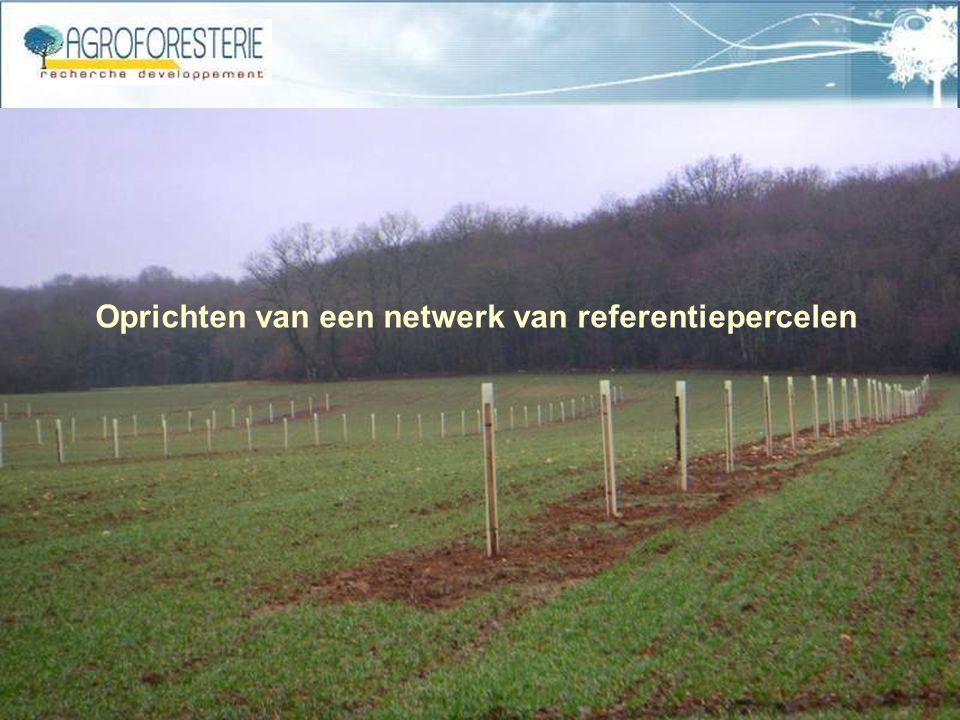 Oprichten van een netwerk van referentiepercelen