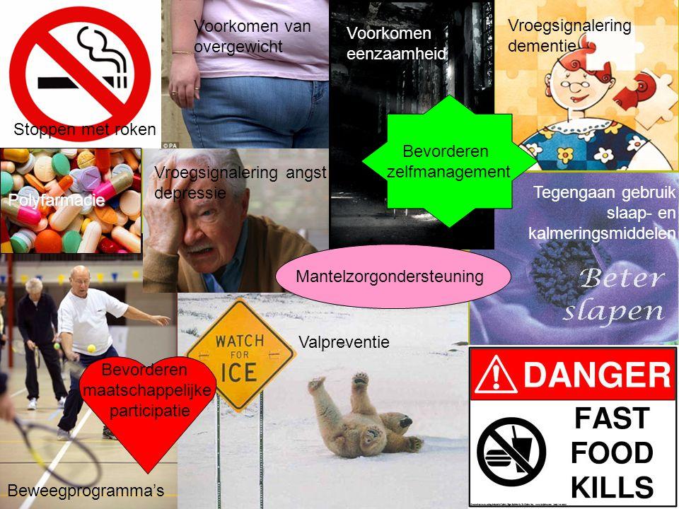 www.vilans.nl Aanbod preventieve zorg voor ouderen  Zeer divers aanbod, maar geen volledig overzicht.divers aanbod  Grote lokale verschillen.