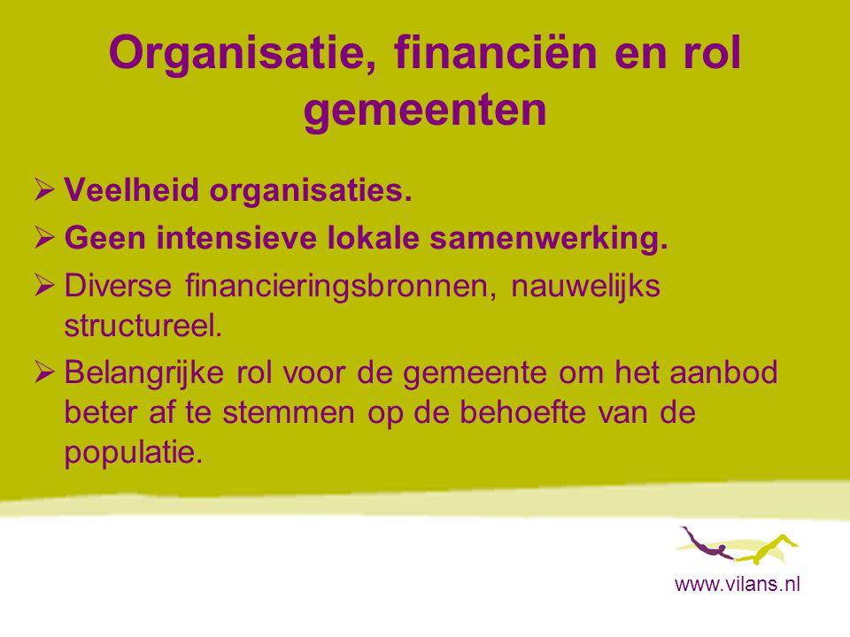 www.vilans.nl Wat vinden ouderen zelf.