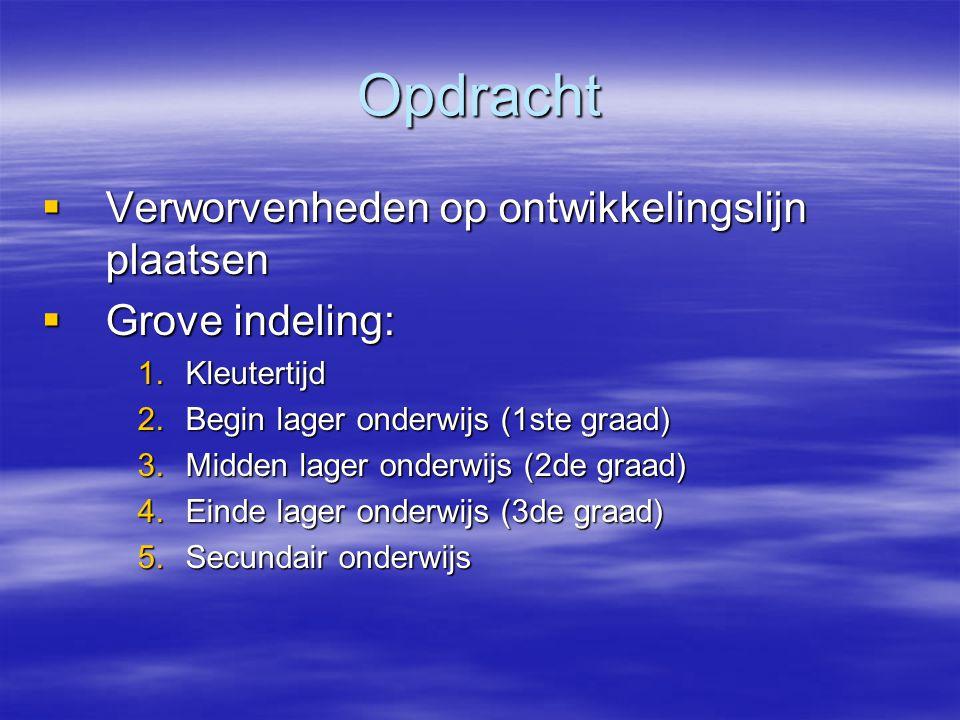 Ontwikkeling van aandacht  Aandachtsproblemen worden heel vaak gemeld, m.n.