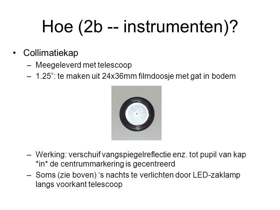 Hoe (2b -- instrumenten).