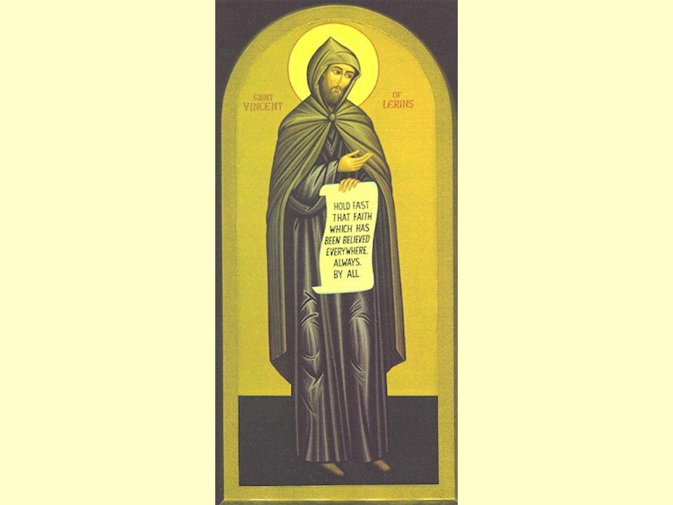 De canon van Vincentius (Lérins, 434 AD) ut id teneatur quod ubique, quod semper, quod ab omnibus creditum est