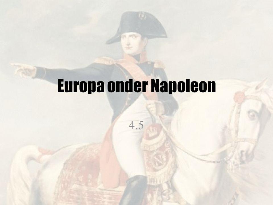 Europa onder Napoleon 4.5