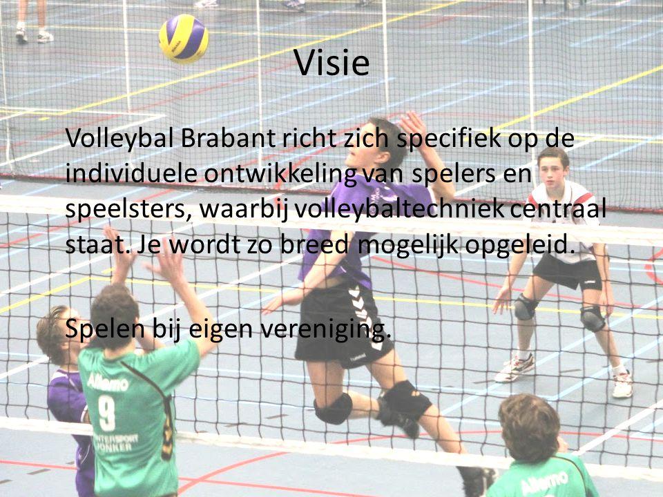 Visie Volleybal Brabant richt zich specifiek op de individuele ontwikkeling van spelers en speelsters, waarbij volleybaltechniek centraal staat. Je wo