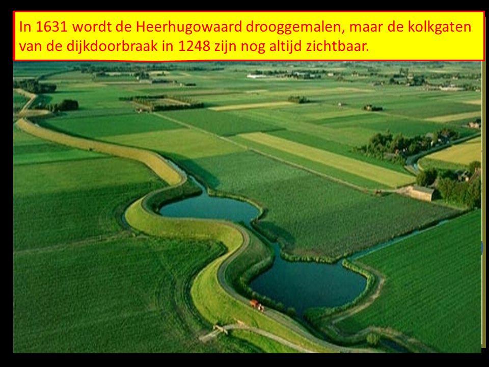 De West-Friezen proberen hun door de oprukkende zee bedreigde land te redden.