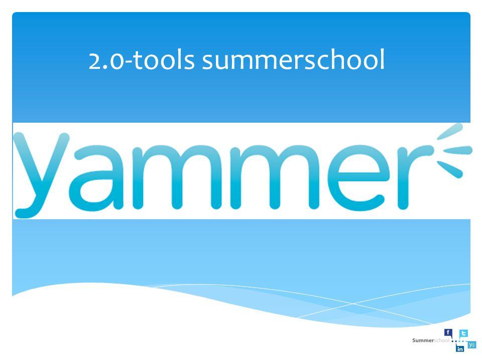 Stap 6: Yammer verder ontdekken Via Org Chart kun je weergeven binnen welk organigram je werkt