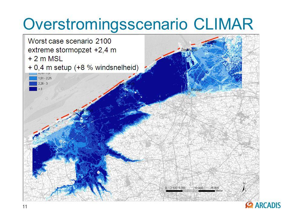 11 Overstromingsscenario CLIMAR