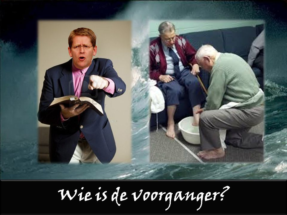 Wie is de voorganger