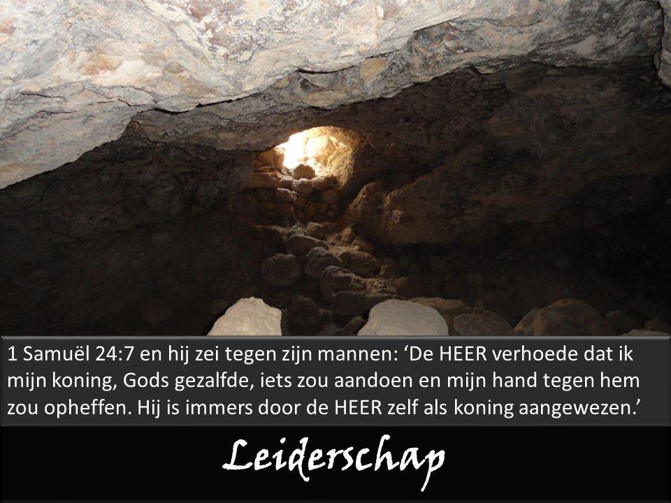 Leiderschap Zacharia 4:6 niet door kracht noch geweld, maar door mijn Geest.