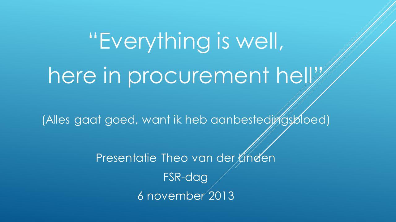Nieuw Europese Richtlijn (1) Groenboek modernisering EU public procurement 620 reacties 20 december 2011 drie nieuwe concept richtlijnen • Klassieke overheid • Water, energievoorziening, vervoer en post • Concessies 2 oktober 2012 versies met de aangenomen amendementen