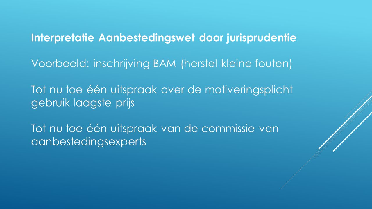Nieuwe onderhandelingsprocedure Overweging 15: Member States should be able to provide for the use of the competitive procedure with negotiation or the competitive dialogue, in various situations where open or restricted procedures without negotiations are not likely to lead to satisfactory procurement outcomes .
