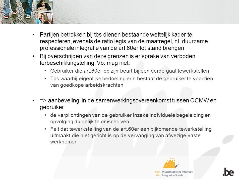 •Partijen betrokken bij tbs dienen bestaande wettelijk kader te respecteren, evenals de ratio legis van de maatregel, nl.