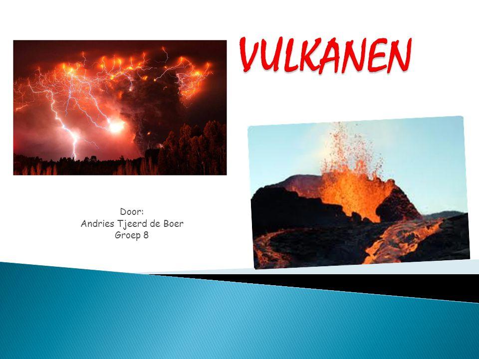  Waarom ik het hier over houd  Aardkorst  Vulkanen, hoe werkt dat.