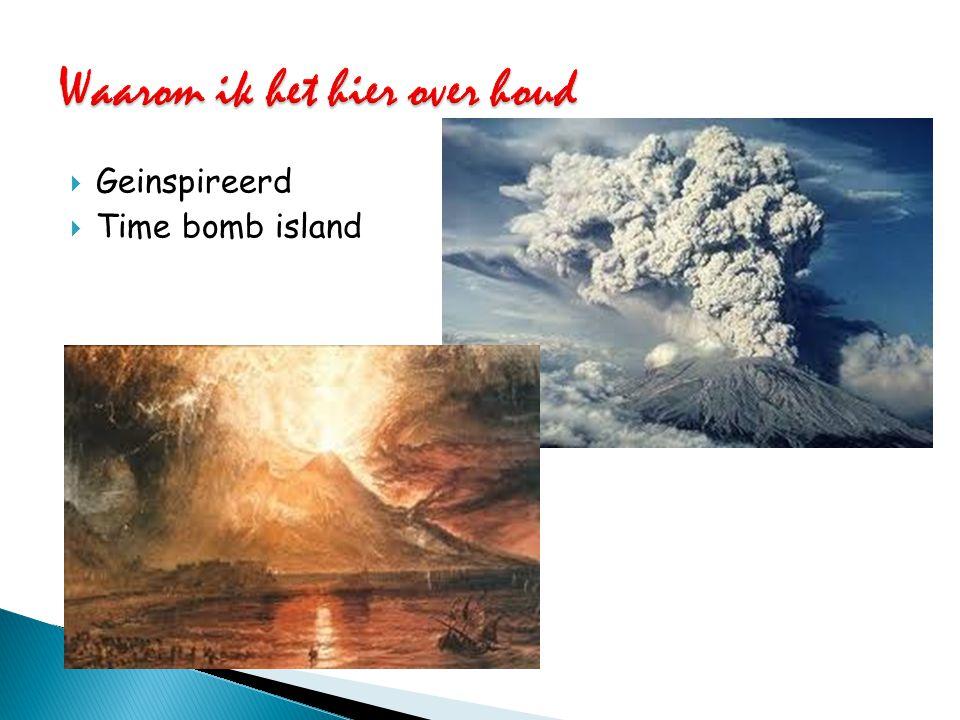 Veel vulkanische activiteit